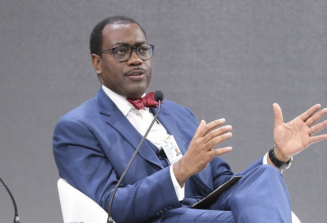 Akinwumi Adesina, President of the African Development Bank is lauded for his visionary leadership and bold initiatives to accelerate Africa's development and to support the continent through the COVID-19 crisis.