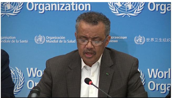 Dr Tedros Adhanom Ghebreyesus is Director General World Health Organization