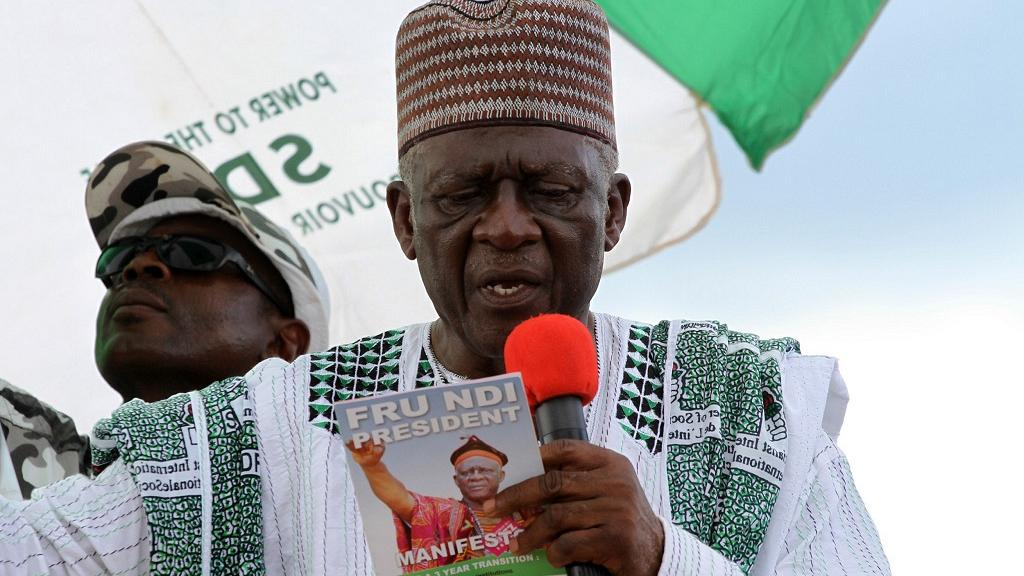 SDF Chairman John Fru Ndi says the government should put an end to hostilities in the North West and South West regions and reconvene around a table of true dialogue and reconciliation with the form of state as a plausible solution