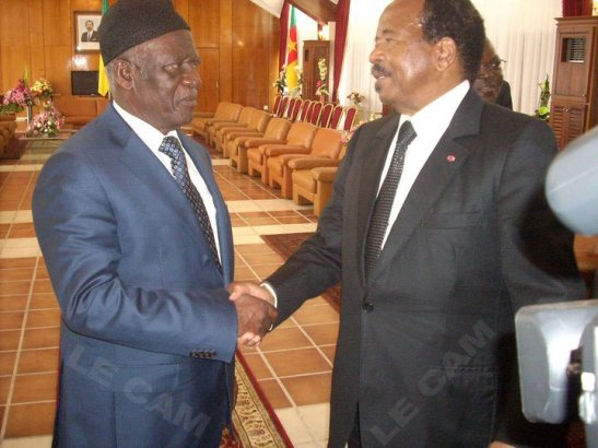 Meeting with President Biya, only through the Federal option will each and every Cameroonian be given the unique opportunity to define and design their destiny, says the SDF Chairman