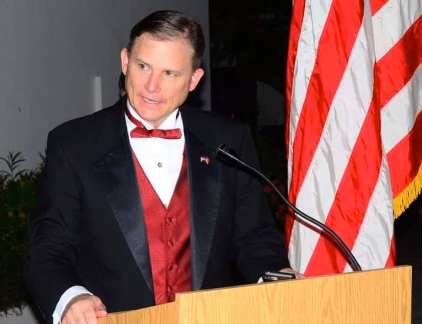 US Ambassador to The Gambia R. Carl Paschall. Photo credit Facebook