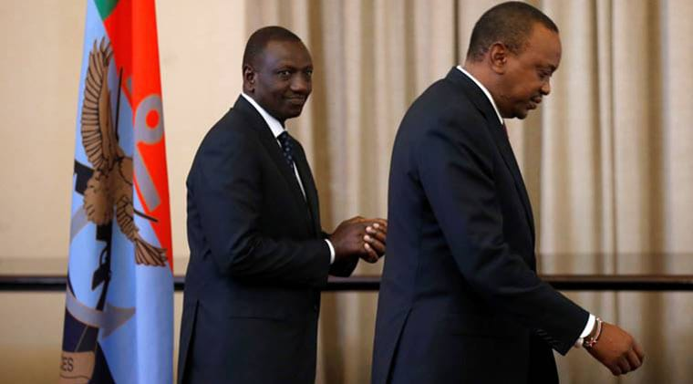 The changes go further to highlight the fractured relations between President Uhuro Kenyatta and and Deputy President William Ruto