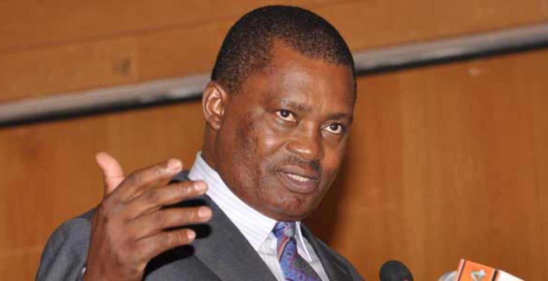 National Assembly Speaker Justin Muturi
