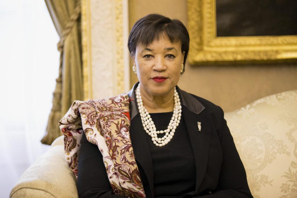 Commonwealth Secretary-General Patricia Scotland