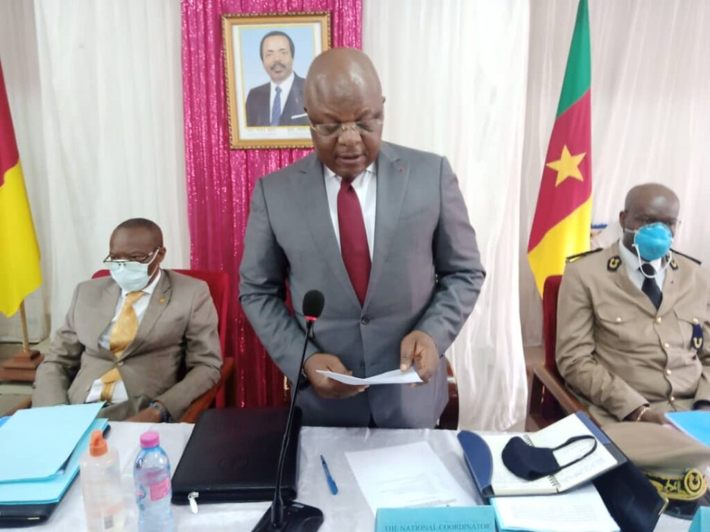 Paul Tasong, National Coordinator for the Presidential Plan for the Reconstruction and Development (PPRD) of the North West and South West Regions of Cameroon