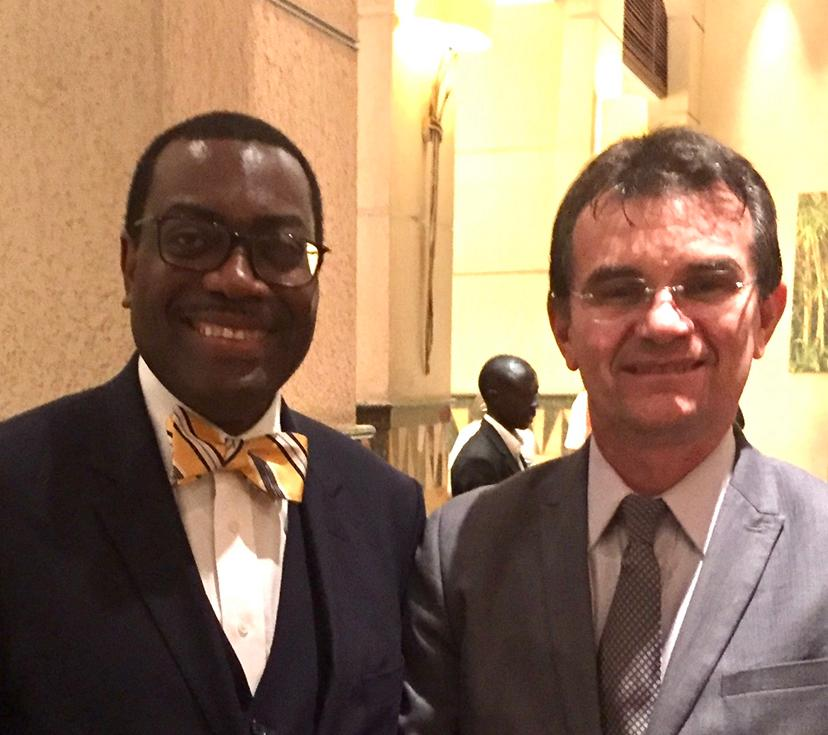 Prof. Joao Bosco and Dr. Adesina