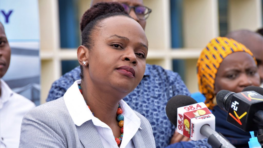 FILE PHOTO: Chief Administrative Secretary from the ministry of Health, DR. Mercy Mwangangi./Ministry of Health-Kenya.