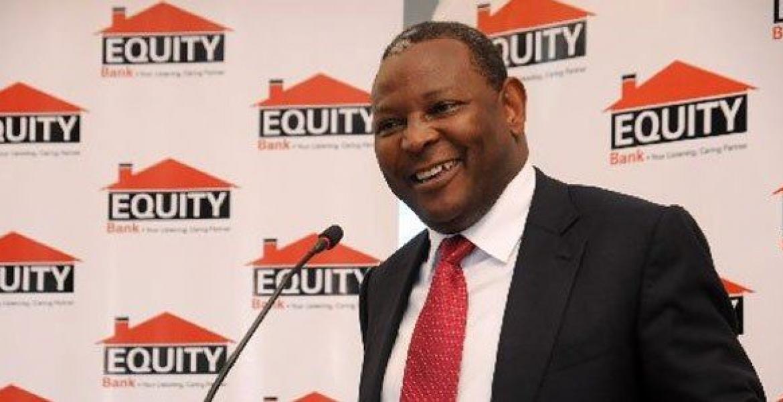 Equity Bank CEO Dr. James Mwangi