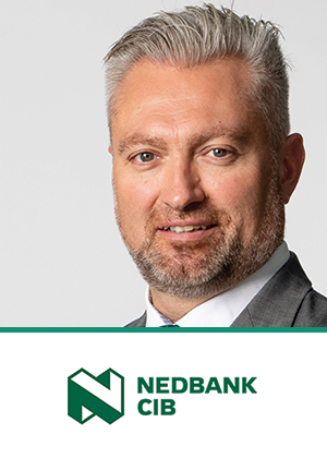 Gerhard Zeelie is Head of Property Finance Africa at Nedbank CIB