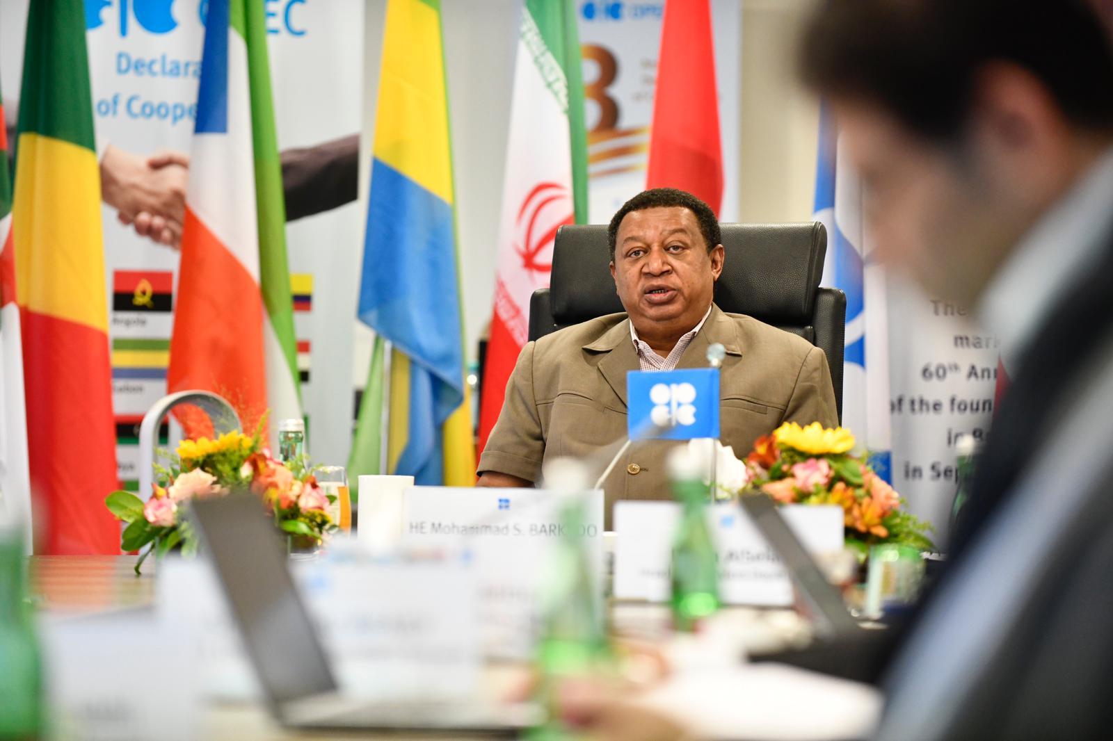 Mohammed Sanusi Barkindo, S.G. of OPEC