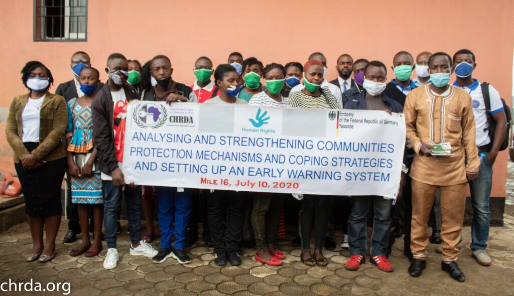 Participants at the workshop on strengthening communities participation mechanism and coping strategies