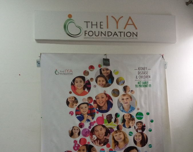 The Iya Foundation aims to save lives by educating and raising awareness on chronic kidney disease