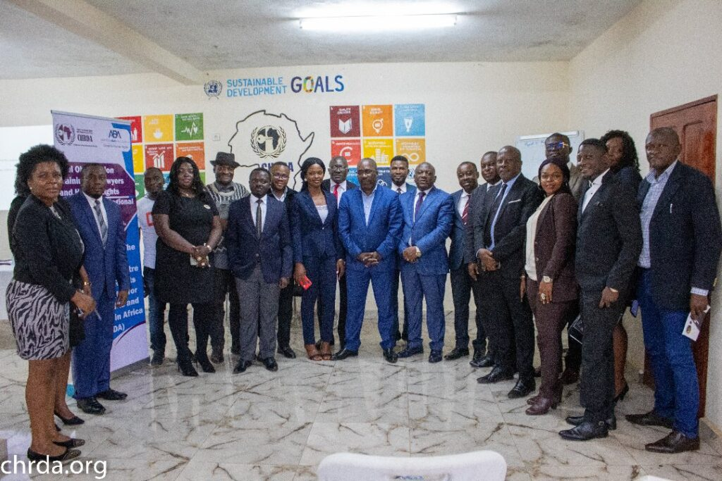 The two days training in Buea focused on Regional and international Fair Trial standards.