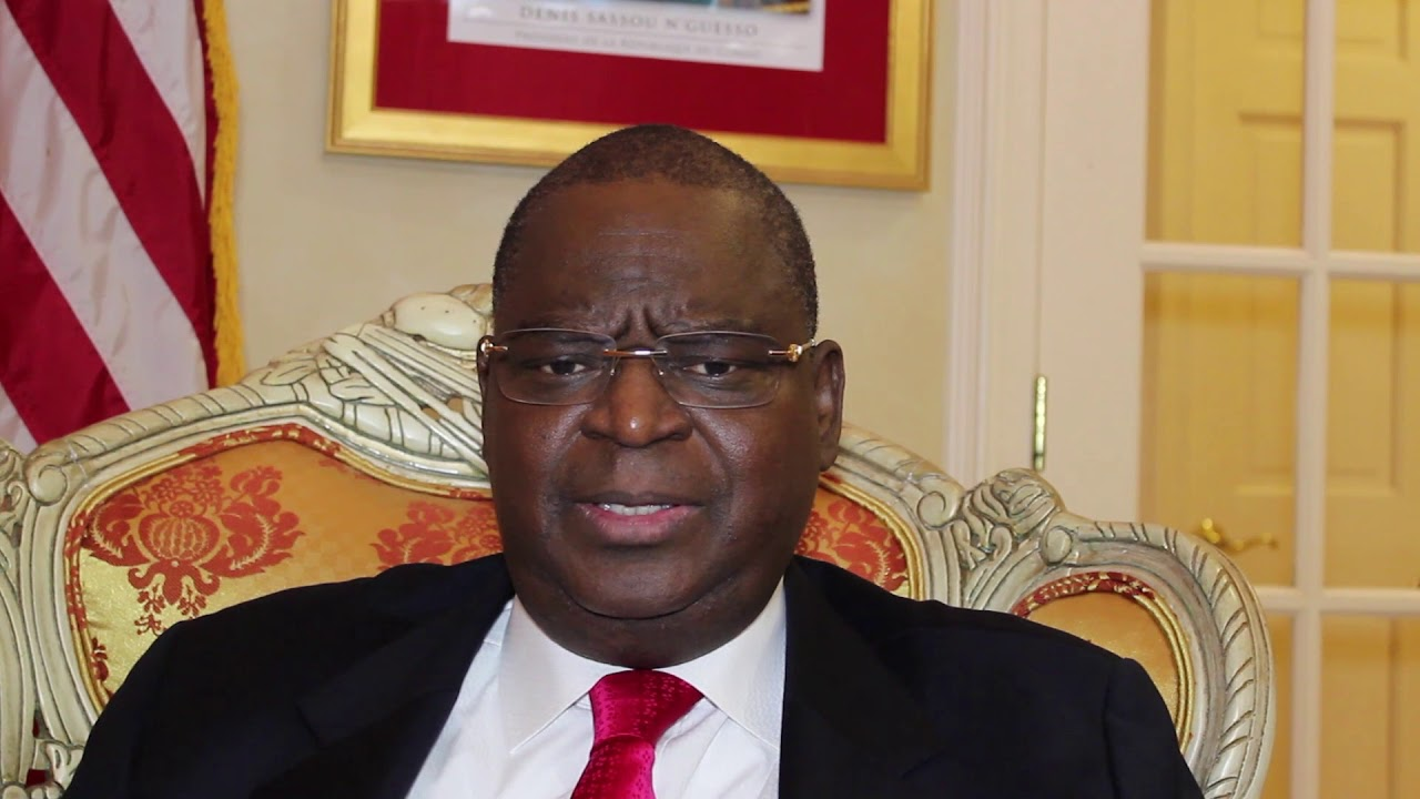 Ambassador Serge Mombouli is urging the US to throw its weight behind Adesina now that the probe has cleared him of wrongdoing .Photo credit Allo Africa News
