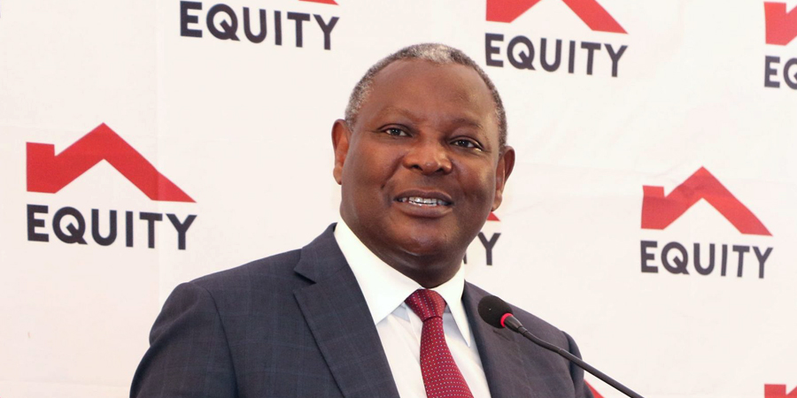 Equity Group MD James Mwangi