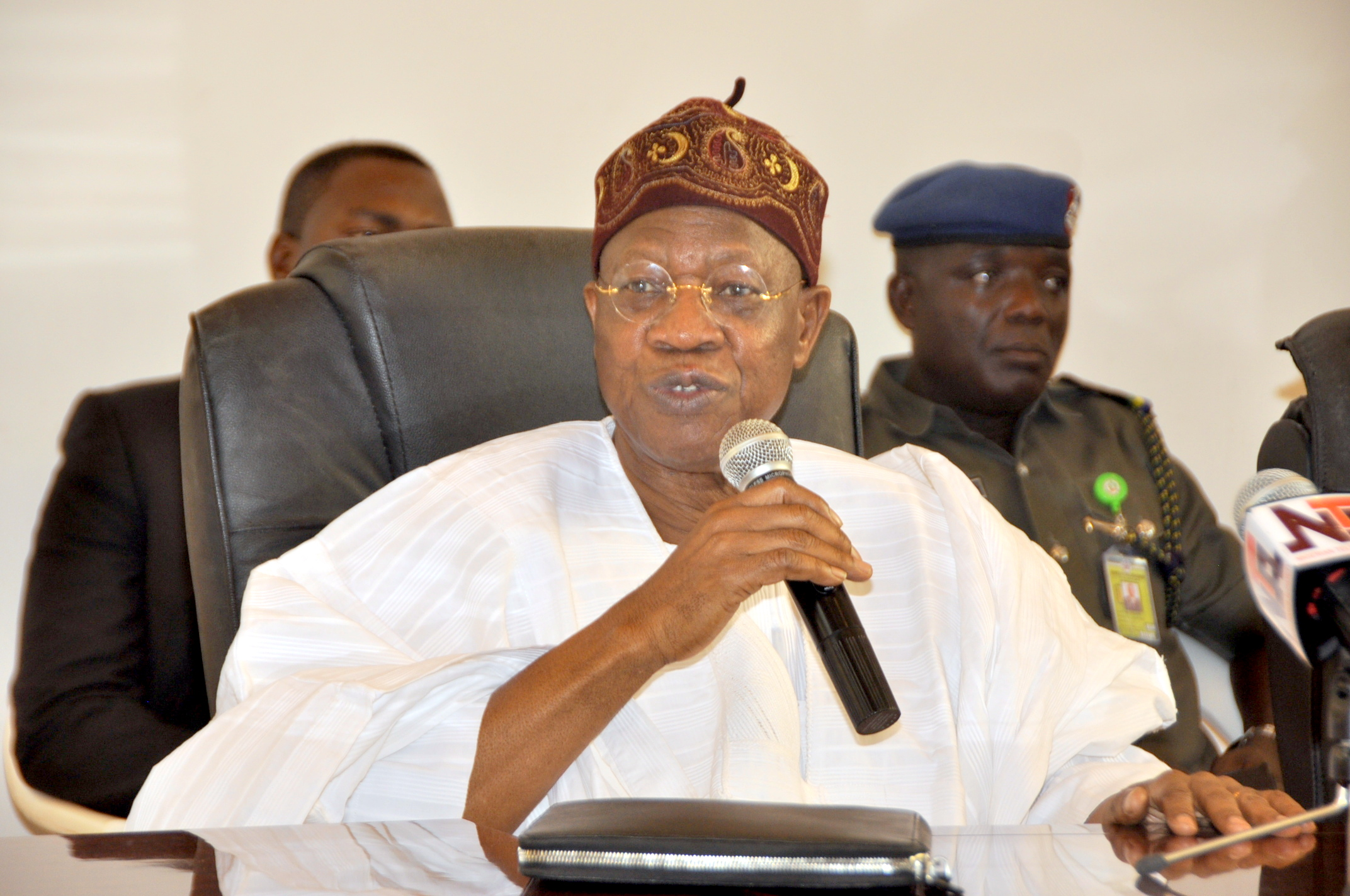 Alhaji Lai Mohammed Minister of Information and Culture