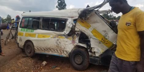 About seven people died in the Matatu accident