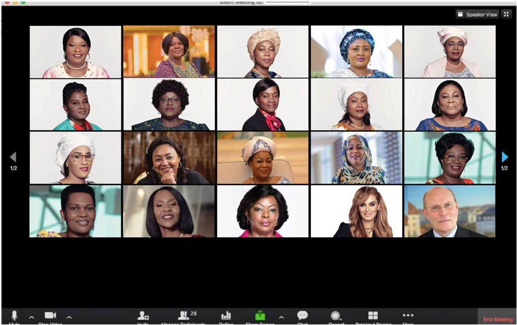Dr Kelej and the Merck Foundation have partnered with African First Ladies on diverse projects to mitigate the effects of Covid 19