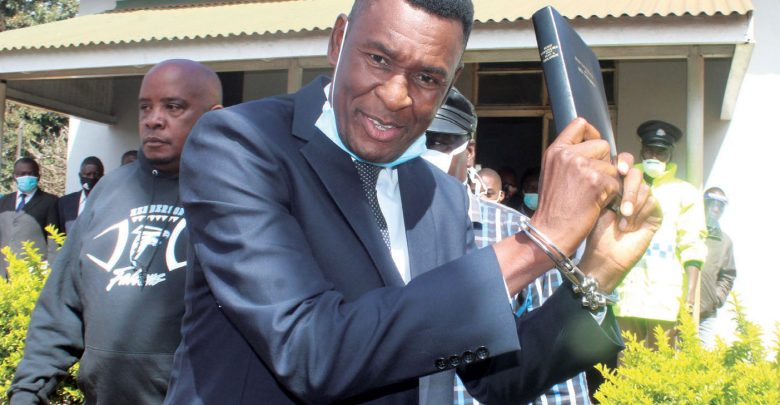 former President Peter Mutharika's bodyguard Norman Chisale
