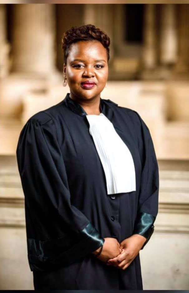Advocate Laure Uwase who was recently appointed in a group of experts to probe Belgium's colonial past.Credit: Laure Uwase/ Facebook page