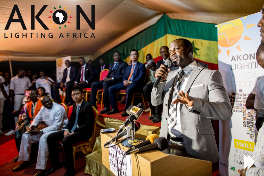 Millions of people now have access to light thanks to Akon lighting Africa