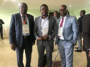 Dr Eseme with Hon Fritz Ngeka, and Barrister Agbor Balla at the National Dialogue, Anglophones are neither disabled nor begging for what is rightfully theirs, he says