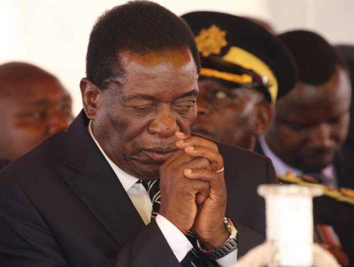 President Mnangagwa is going through uncertain times in Zimbabwe