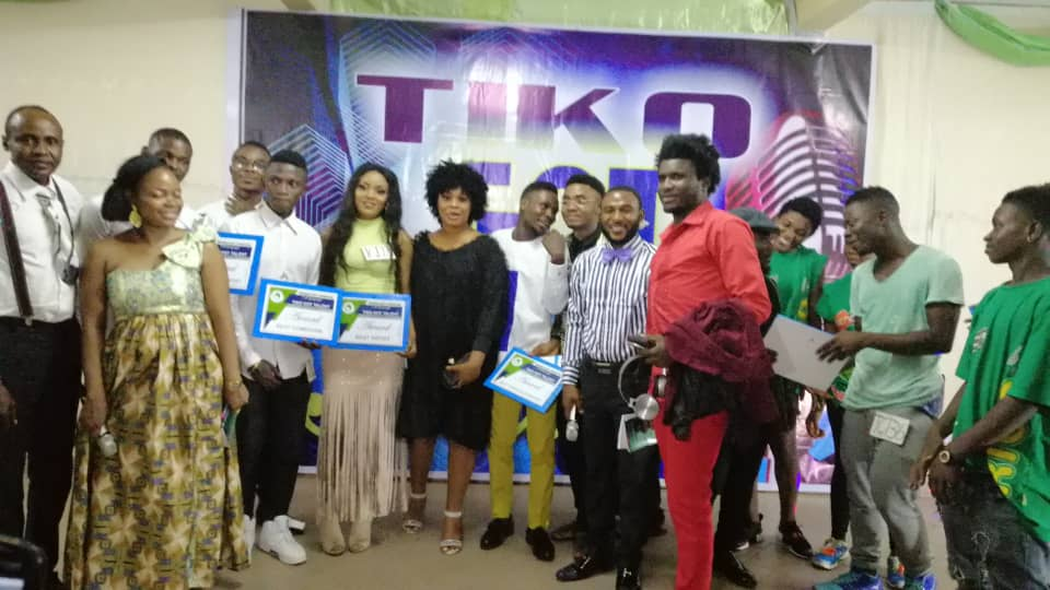 Some winners of the first edition of the Tiko Got Talent in 2019