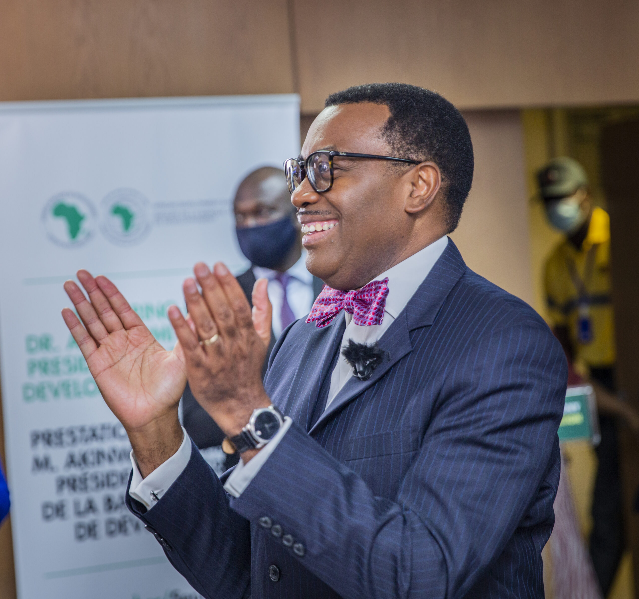 I am grateful to serve Africa passionately, to the very best of my God-given ability,says Akinwumi Adesina
