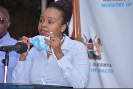 Health Chief Administrative Secretary (CAS) Dr. Mercy Mwangangi