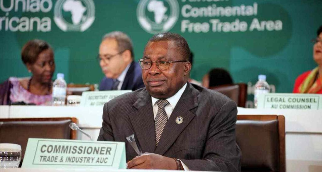 AU Trade Commissioner Albert Muchanga
