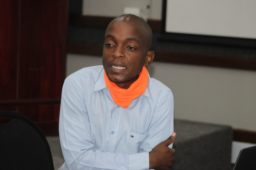 Kudakwashe Zombe, National Coordinator for the Zimbabwe Civil Society Organizations Scaling Up Nutrition Alliance (ZCSOSUNA)