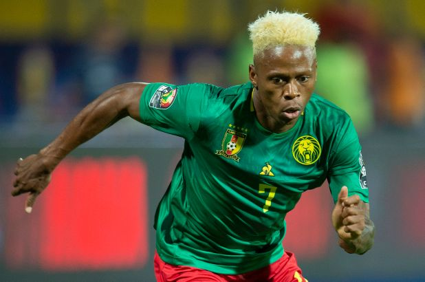 Njie made his debute for Cameroon in 2014 and has gone on to play 32 times for the indomitable lions, scoring 9 goals