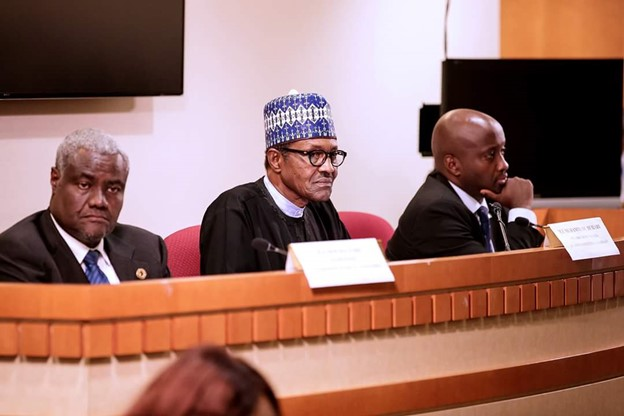 AU Chair Moussa Faki has openly expressed his dissatisfaction with the handling of #endsars protest by Nigerian government (photo: diplomaticwatch)