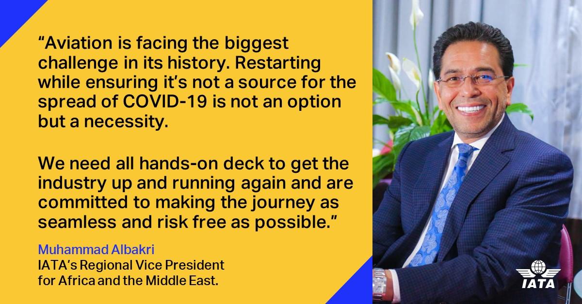 Muhammadi Albakri IATA's Regional Vice President for Africa and Middle East