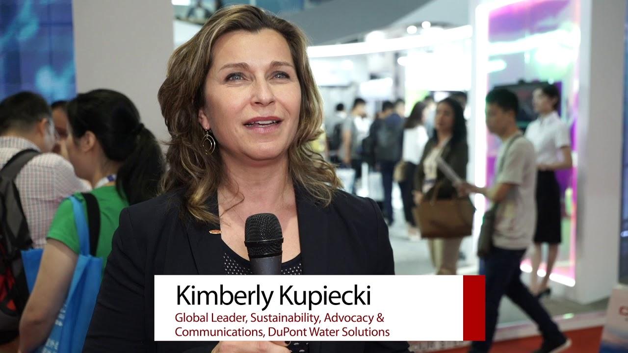 Kimberly Kupiecki, global sustainability leader, DuPont Water Solutions