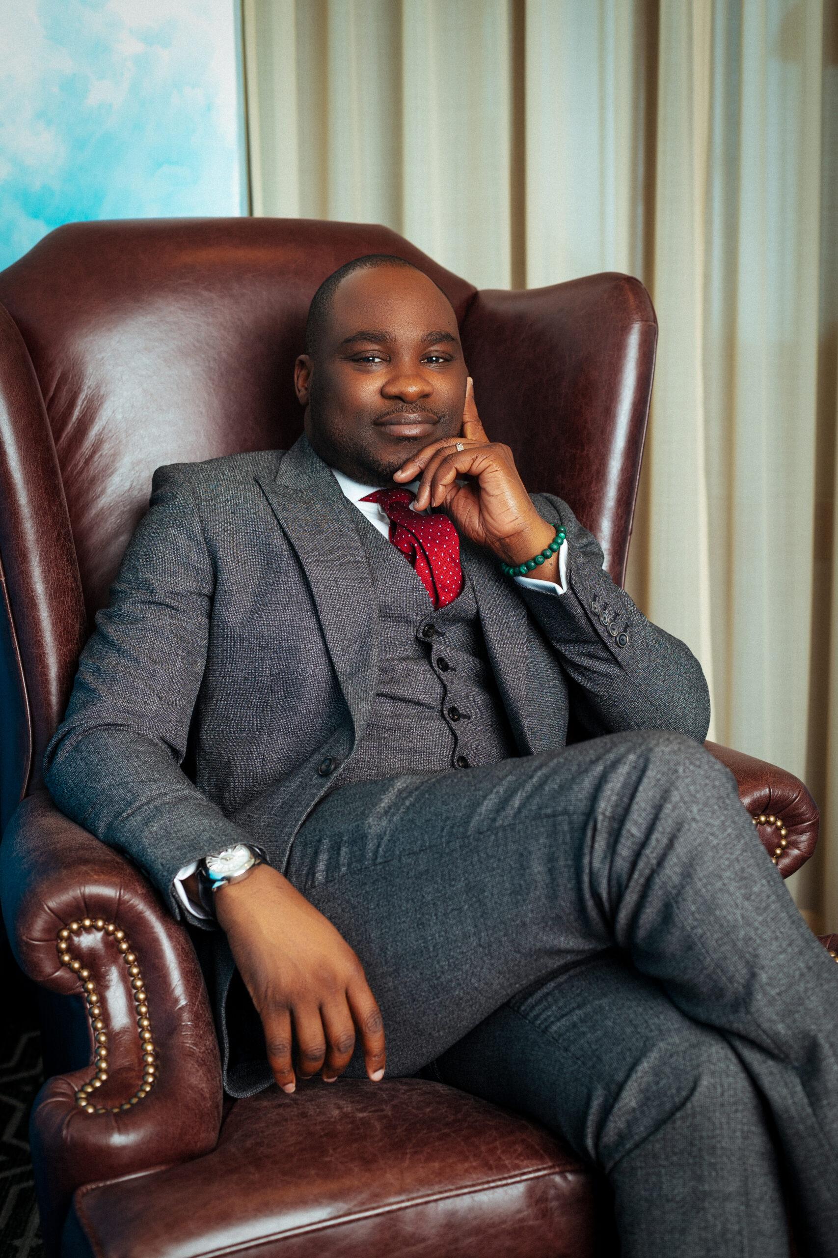 Alexander Amosu, Founder of Lux Afrique