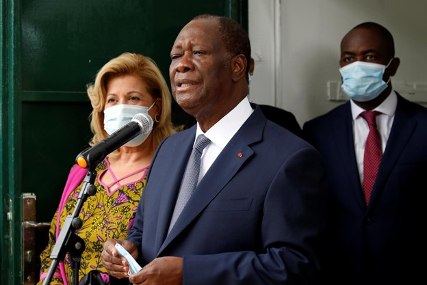 Ivory Coast President Alassane Ouattara was declared winner by electoral commission (Photo: Reuters/luc Gnago)