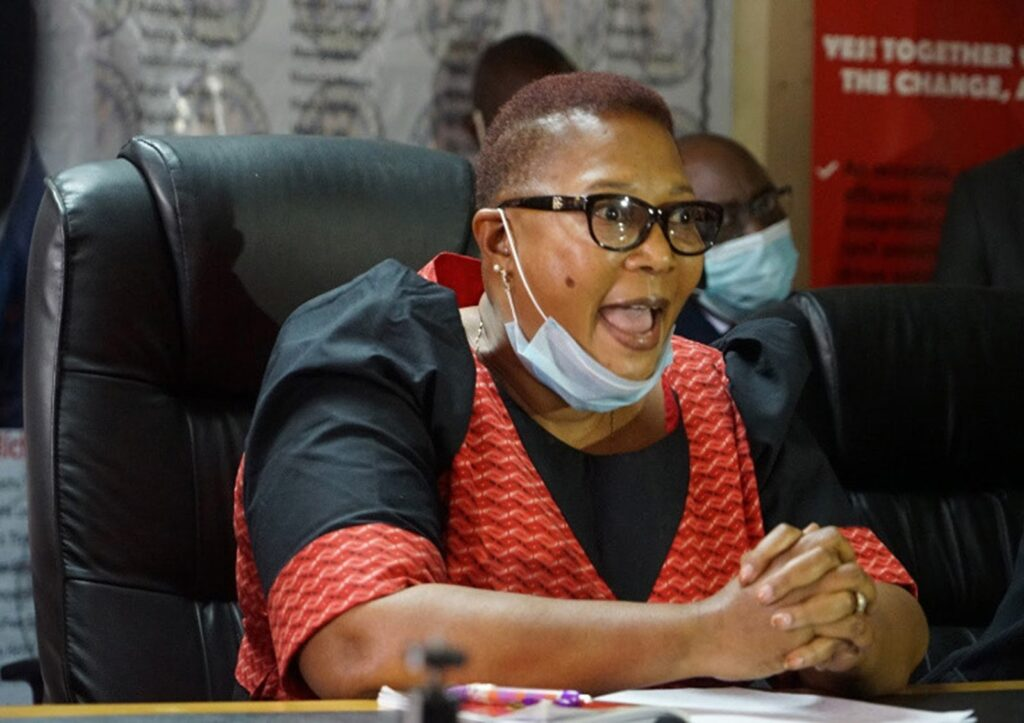 Thokozani Khuphe is the Opposition leader in Parliament
