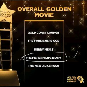 The Fisherman's Diary amongst the nominees for Official Golden Movie