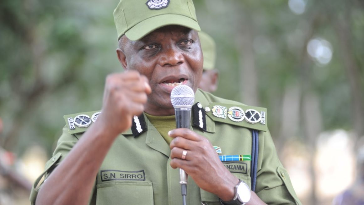 Inspector general of Police Simon Sirro.Photo courtesy