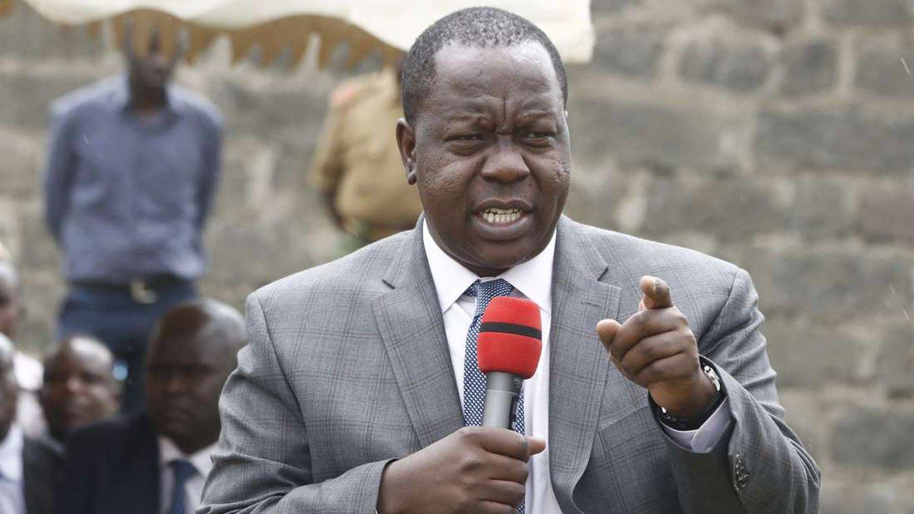 Kenya's Interior Minister Dr. Fred Matiang'i .Photo courtesy