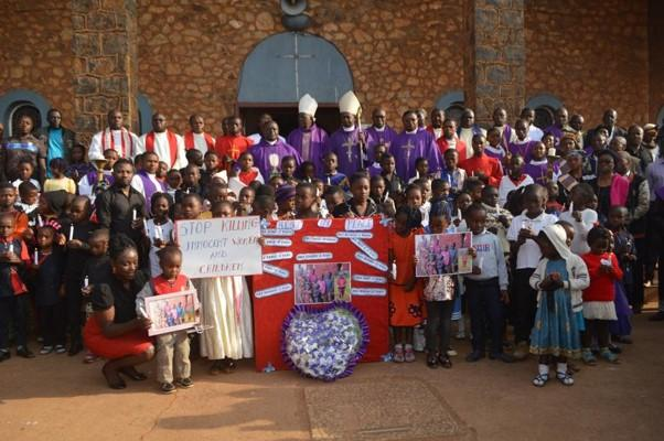 Memorial held at the Saint Theresia Cathedral in Kumba for victims of the Ngarbuh killings