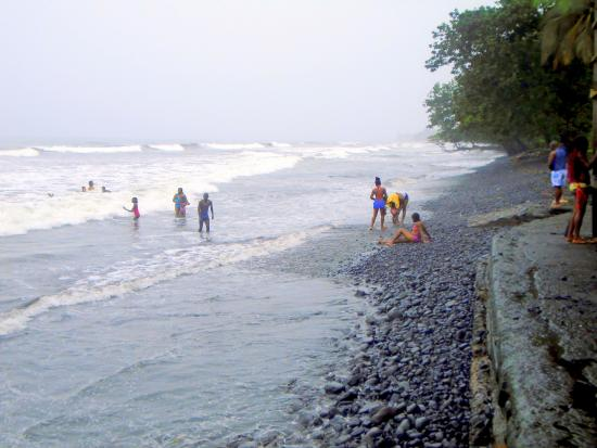 .Seme Beach on the Atlantic coast of Cameroon is a major attraction.Photo credit Nkem Tourism