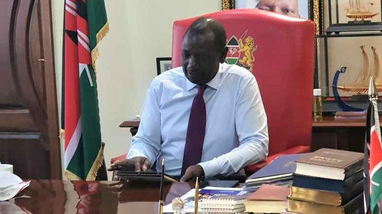 Deputy President William Ruto has expressed reservations on some of the developments taking place