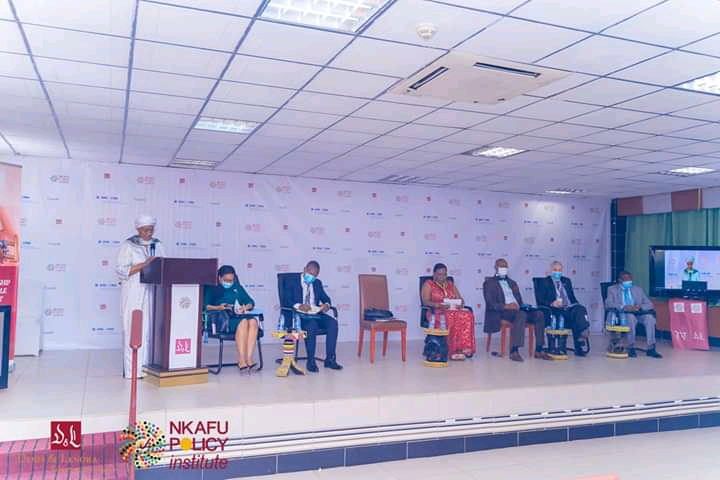 The high level panel for the launch of the Nkafu Policy Institute's project on social entrepreneurship for sustainable development in sub-Saharan Africa