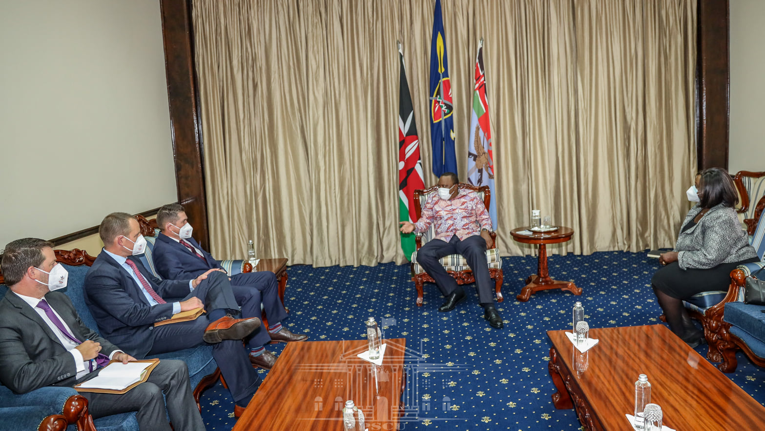 President Uhuru Kenyatta has reiterated Kenya's determination to conclude ongoing negotiations with the United States of America and sign a Free Trade Agreement (FTA)