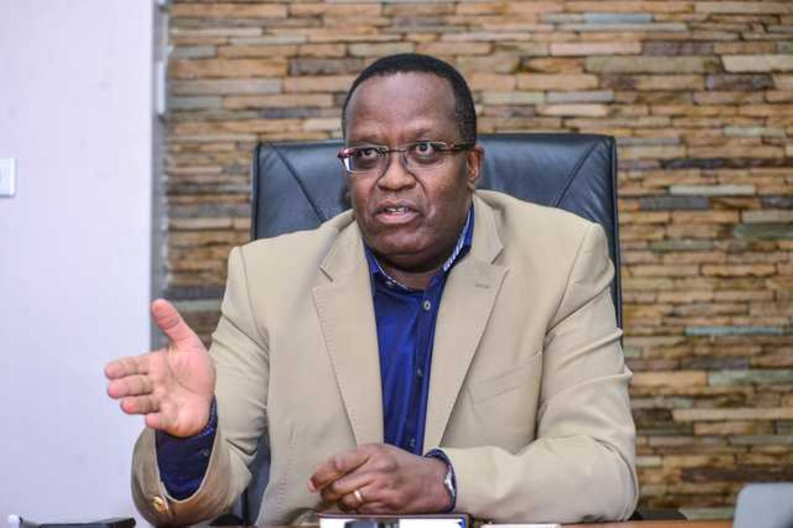 Managing Director Bernard Ngugi