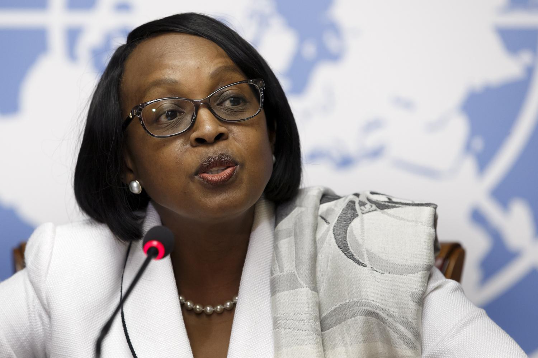 Regional Director for World Health Organization, Africa Region Dr Matshidiiso Moeti