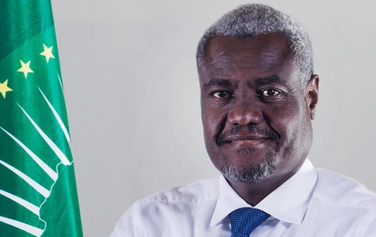 A big win and a second term for Moussa Faki .Photo Credit: African Union